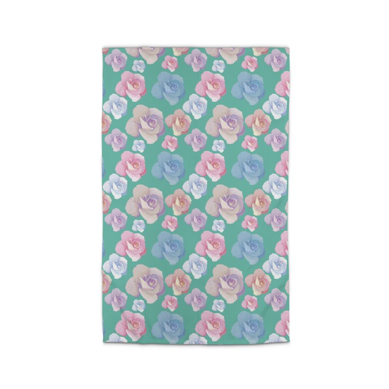 Roses Home Rug by Svaeth's Artist Shop
