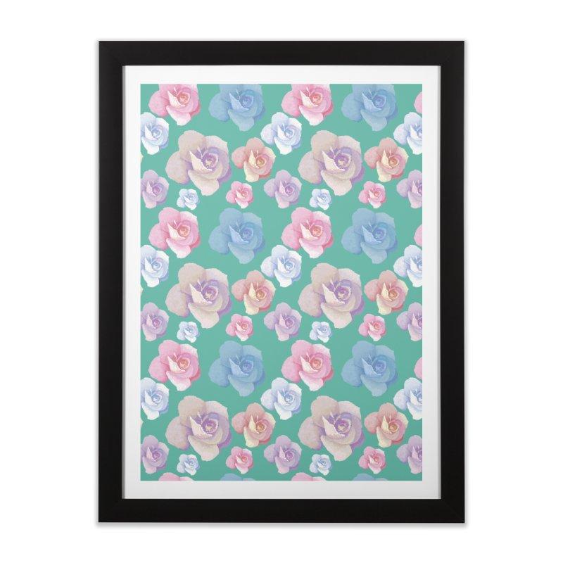 Roses Home Framed Fine Art Print by Svaeth's Artist Shop