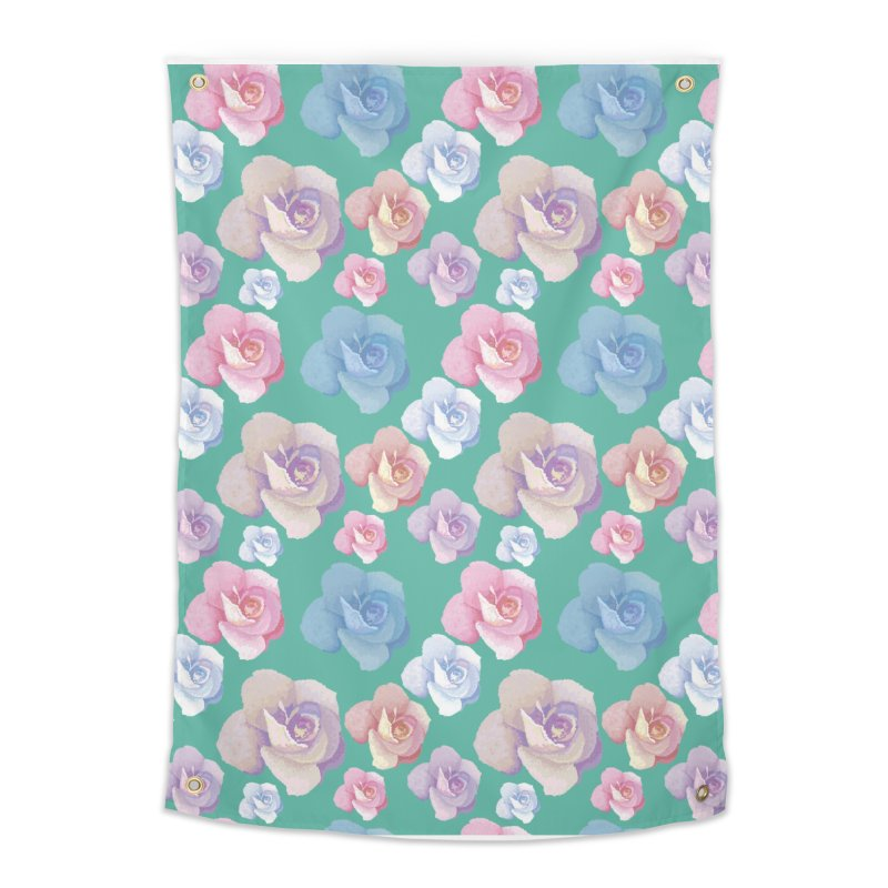 Roses Home Tapestry by Svaeth's Artist Shop
