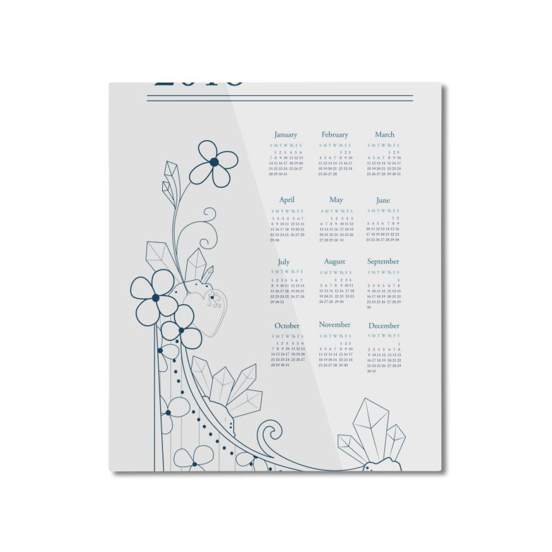 2018 Calendar Home Mounted Aluminum Print by Svaeth's Artist Shop