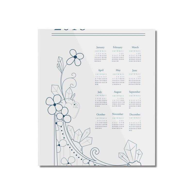 2018 Calendar Home Mounted Acrylic Print by Svaeth's Artist Shop