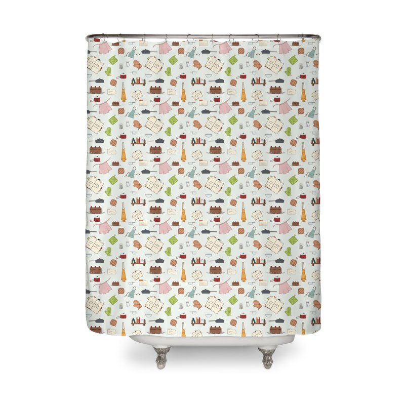cooking Home Shower Curtain by Svaeth's Artist Shop