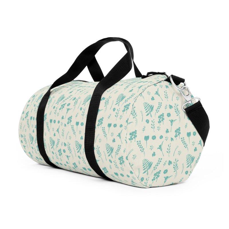 Botanical Accessories Duffel Bag Bag by Svaeth's Artist Shop