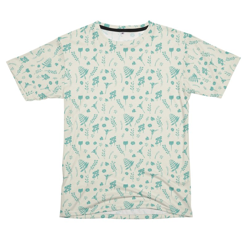 Botanical Men's T-Shirt Cut & Sew by Svaeth's Artist Shop