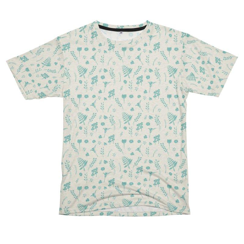 Botanical Women's Unisex French Terry T-Shirt Cut & Sew by Svaeth's Artist Shop