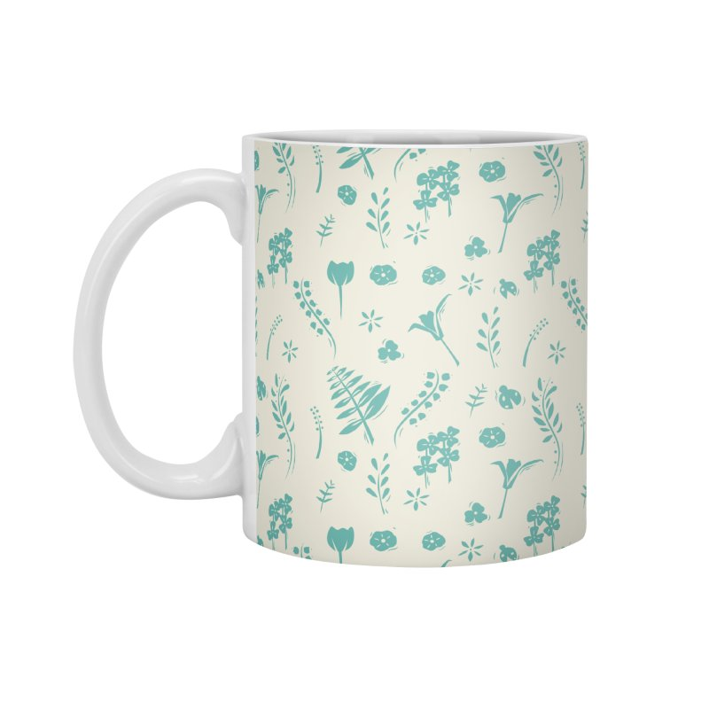 Botanical Accessories Mug by Svaeth's Artist Shop