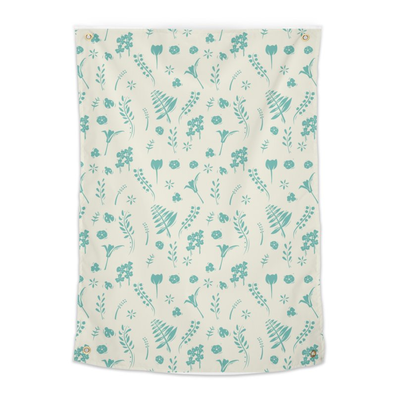 Botanical Home Tapestry by Svaeth's Artist Shop