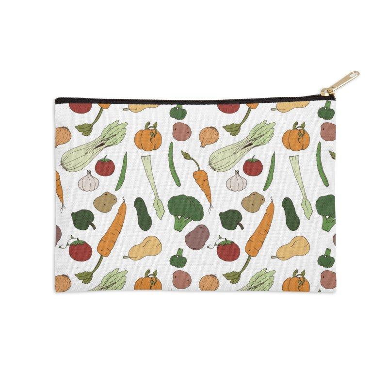 Harvest Accessories Zip Pouch by Svaeth's Artist Shop