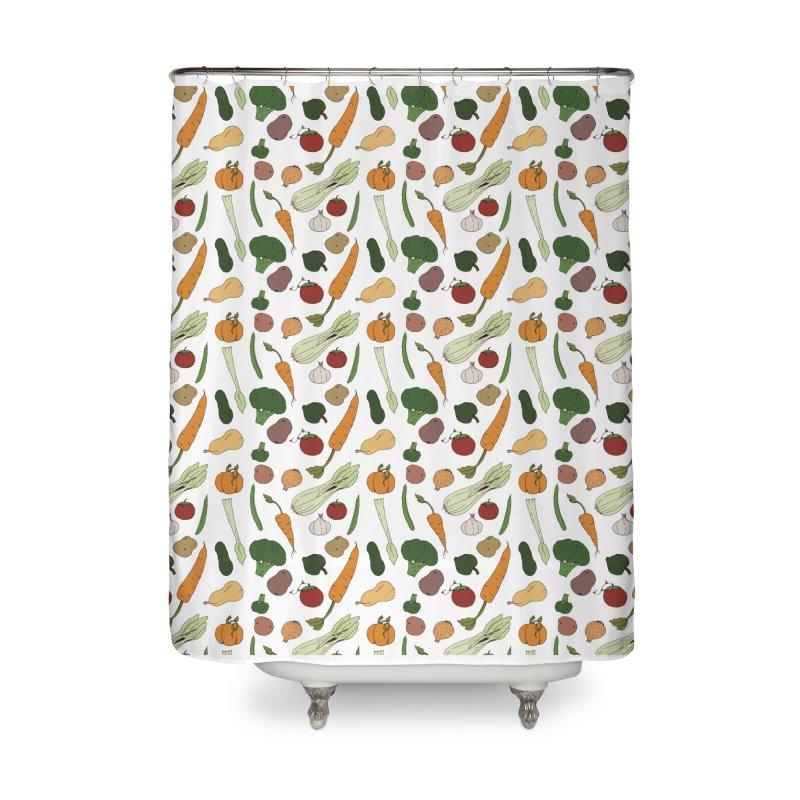 Harvest Home Shower Curtain by Svaeth's Artist Shop