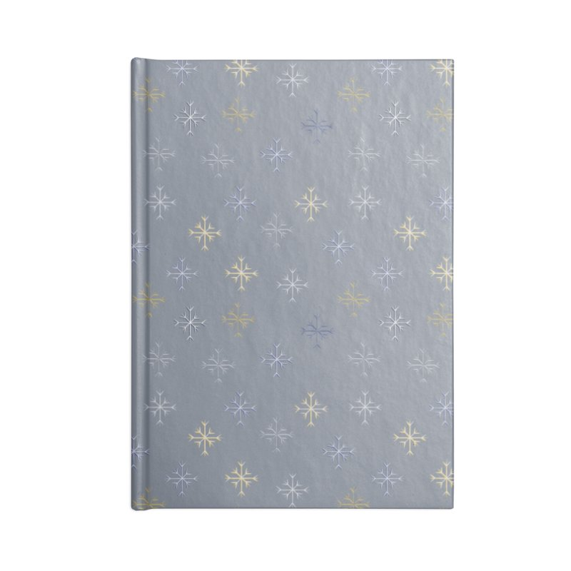 Snowflakes Accessories Notebook by Svaeth's Artist Shop