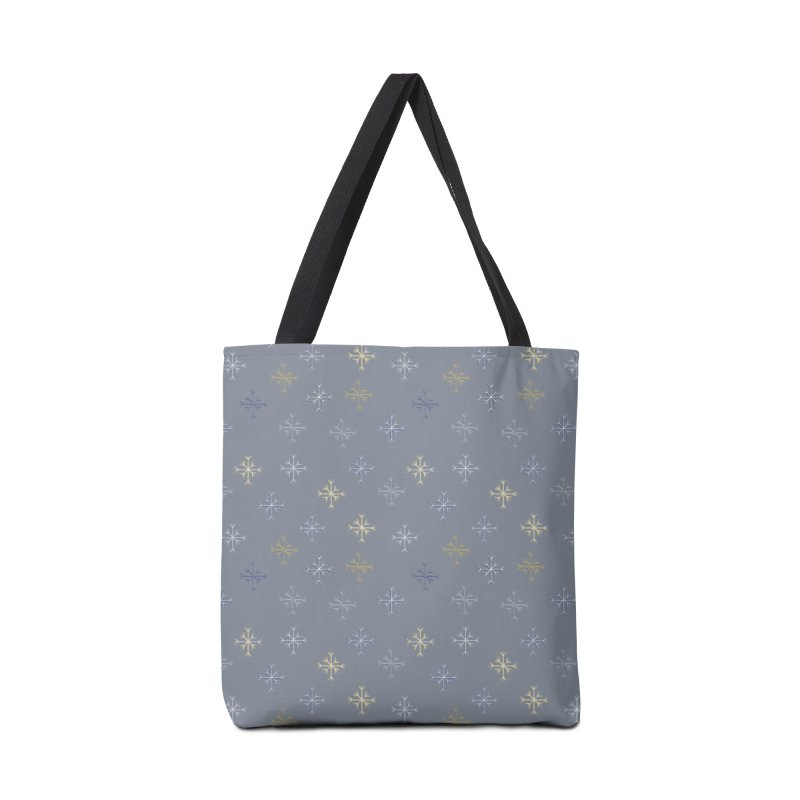 Snowflakes Accessories Bag by Svaeth's Artist Shop