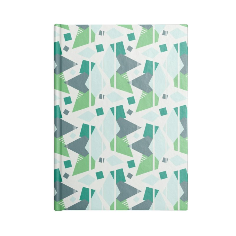 Fragmented Shapes Accessories Notebook by Svaeth's Artist Shop