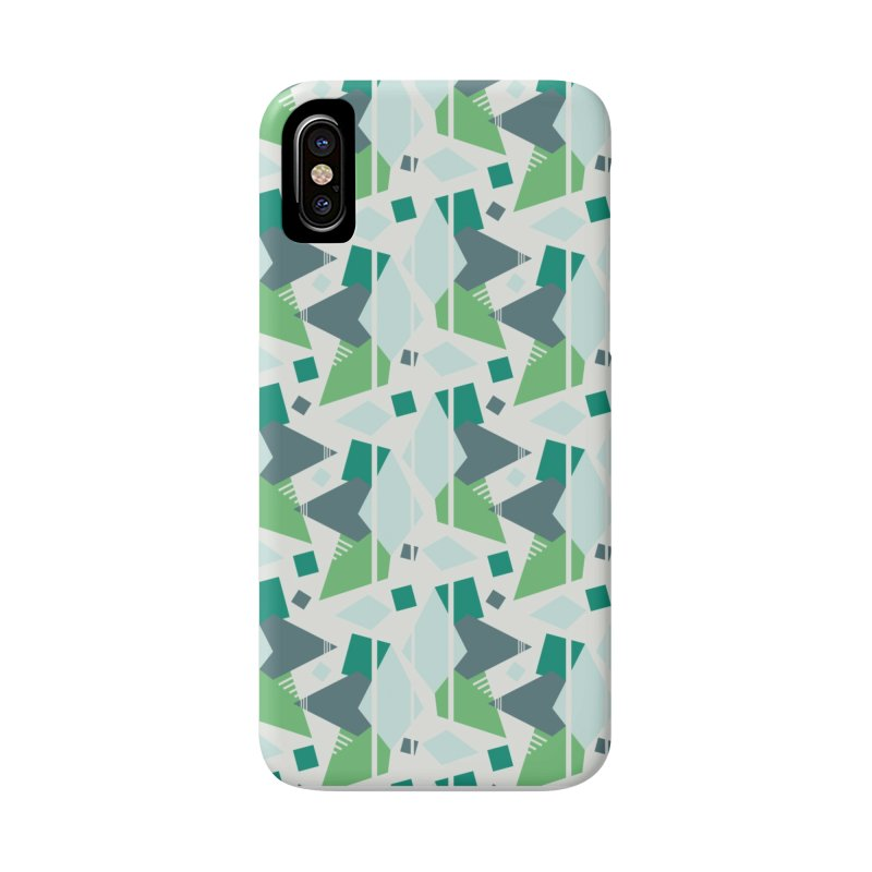 Fragmented Shapes Accessories Phone Case by Svaeth's Artist Shop