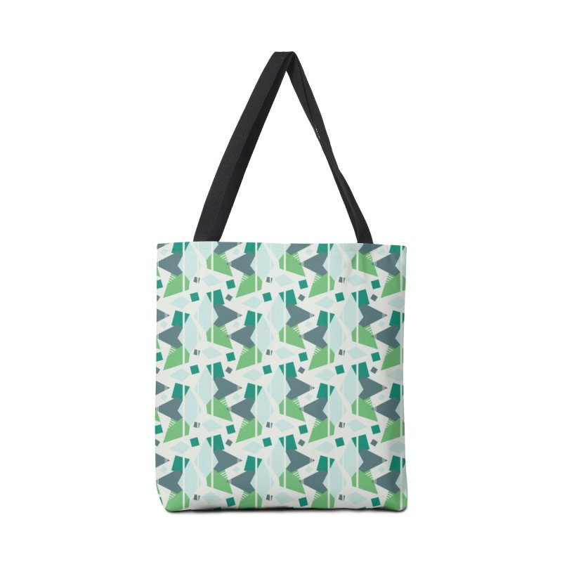 Fragmented Shapes Accessories Bag by Svaeth's Artist Shop