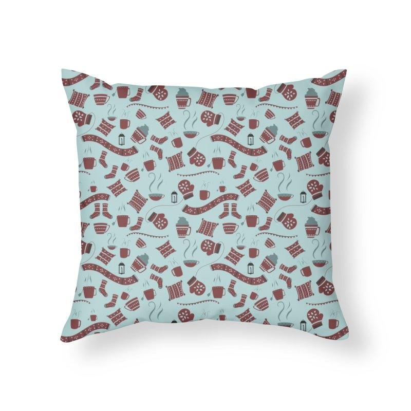 Hygge Home Throw Pillow by Svaeth's Artist Shop