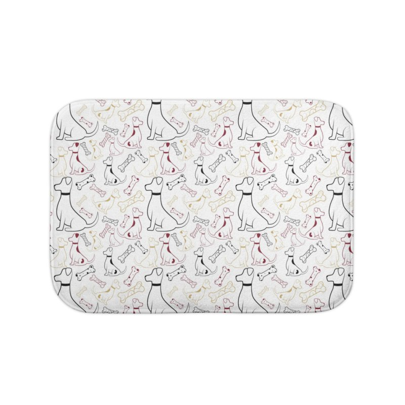 Year of the Dog Home Bath Mat by Svaeth's Artist Shop