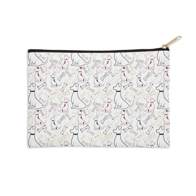 Year of the Dog Accessories Zip Pouch by Svaeth's Artist Shop