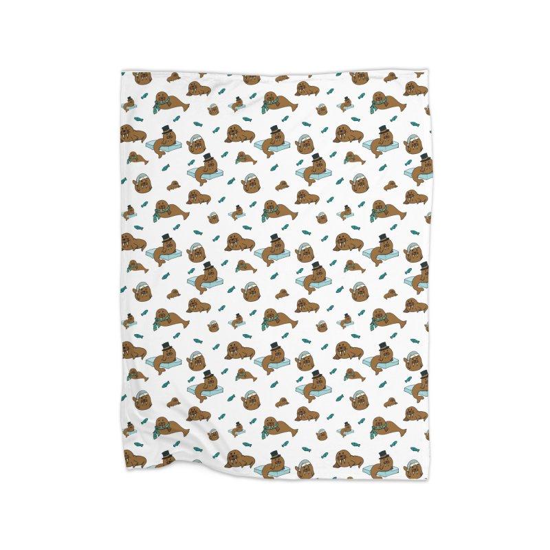 Walrus Home Blanket by Svaeth's Artist Shop