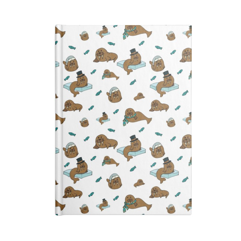 Walrus Accessories Notebook by Svaeth's Artist Shop