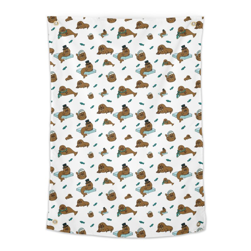 Walrus Home Tapestry by Svaeth's Artist Shop