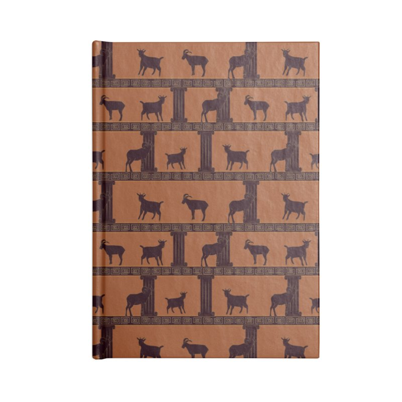 Greek Goats Accessories Notebook by Svaeth's Artist Shop