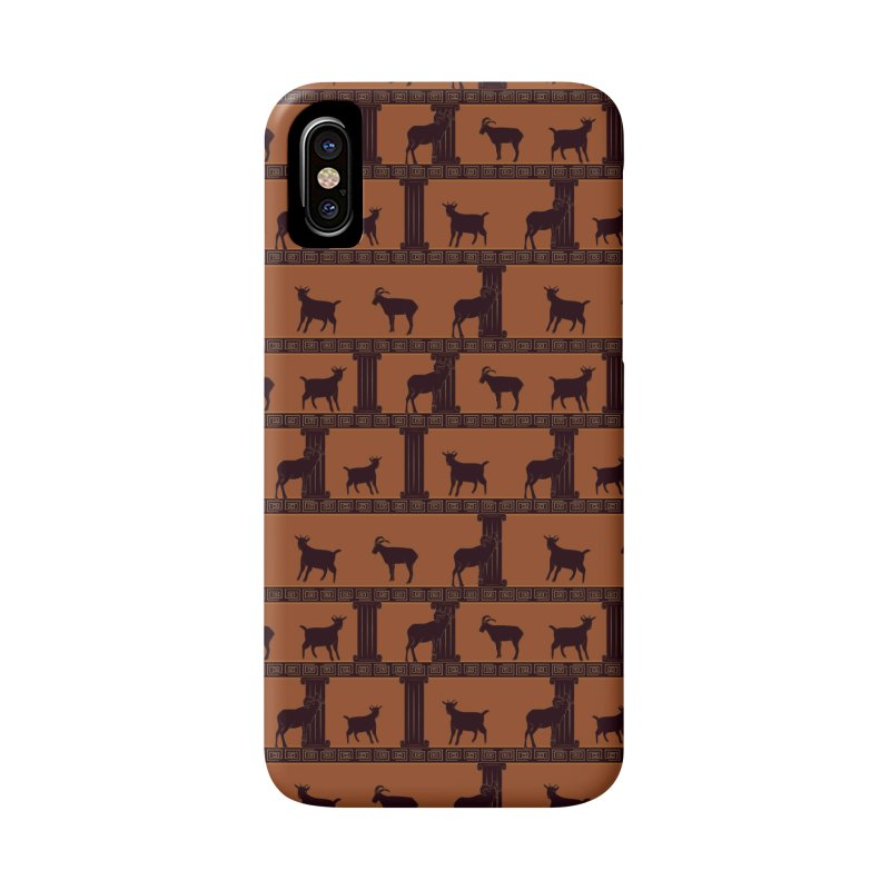 Greek Goats Accessories Phone Case by Svaeth's Artist Shop