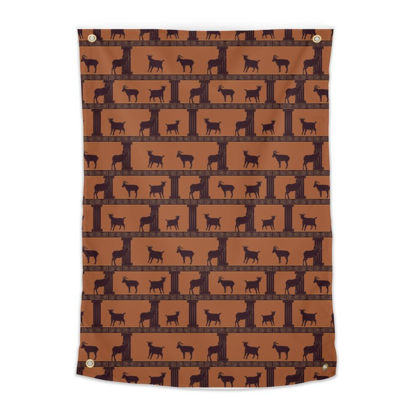 Greek Goats Home Tapestry by Svaeth's Artist Shop