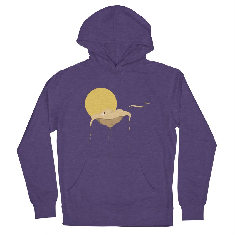 Desert Men's French Terry Pullover Hoody by Svaeth's Artist Shop