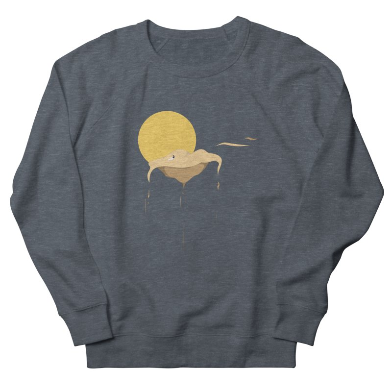 Desert Women's French Terry Sweatshirt by Svaeth's Artist Shop
