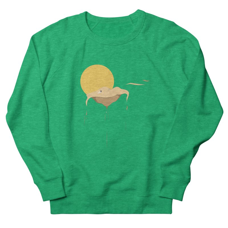 Desert Men's French Terry Sweatshirt by Svaeth's Artist Shop