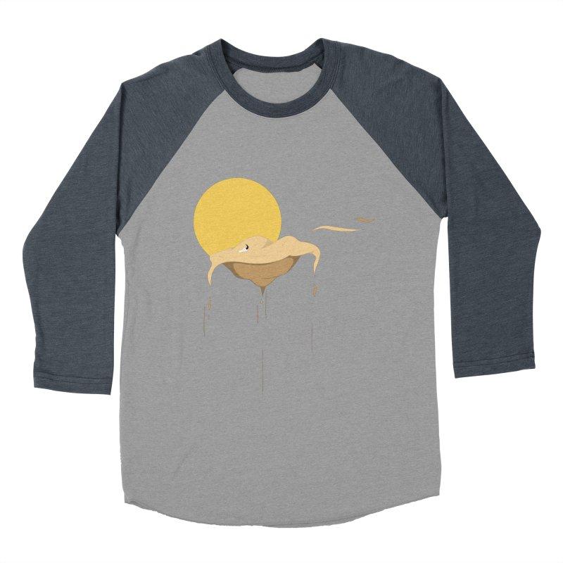 Desert Women's Baseball Triblend T-Shirt by Svaeth's Artist Shop