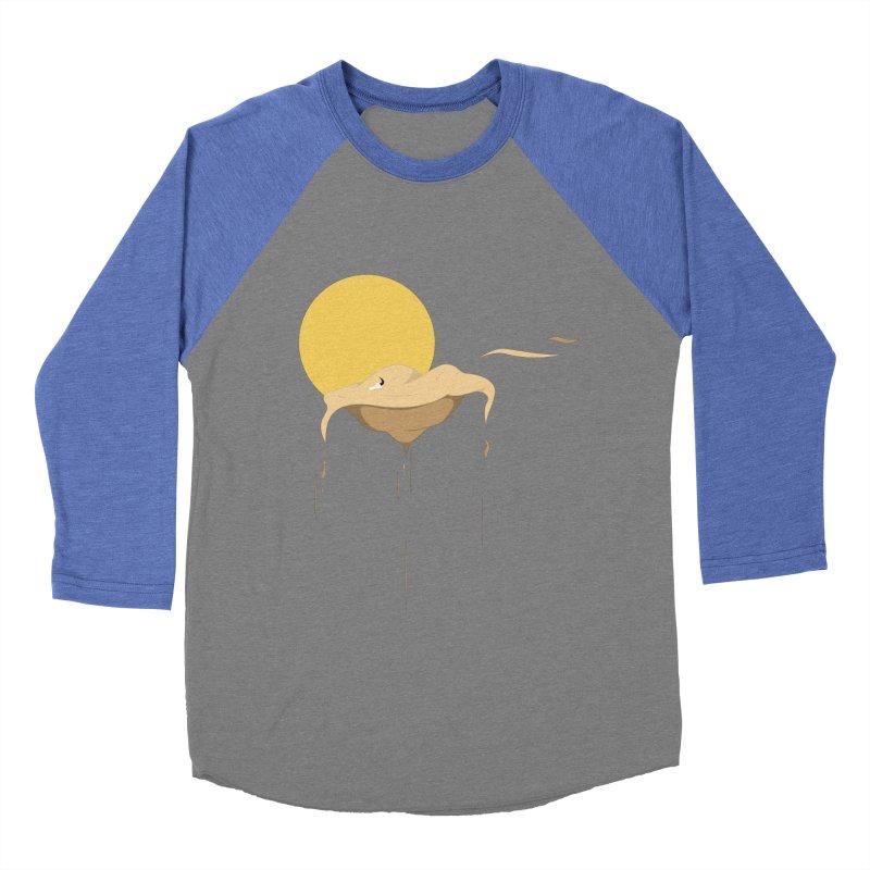 Desert Men's Baseball Triblend T-Shirt by Svaeth's Artist Shop