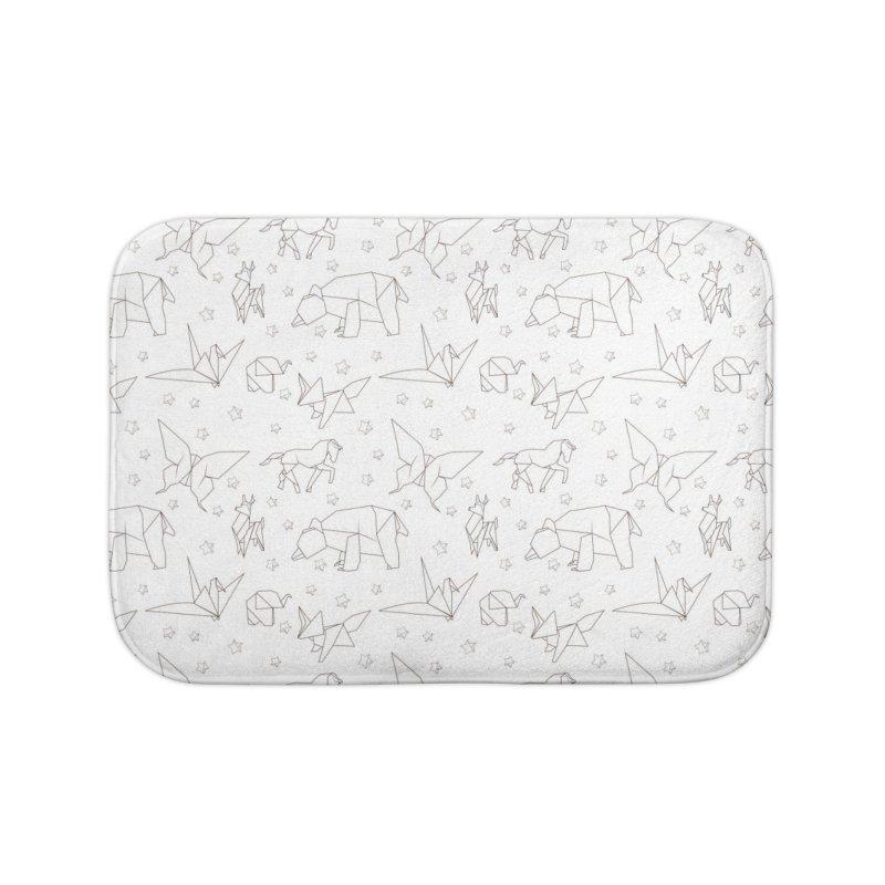 Origami Home Bath Mat by Svaeth's Artist Shop