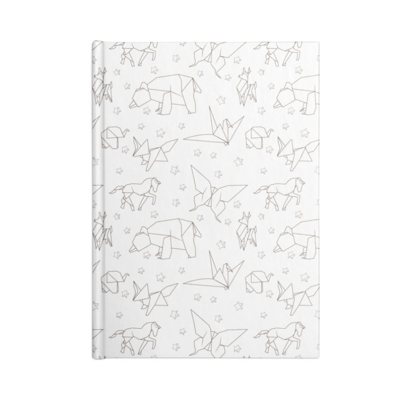 Origami Accessories Notebook by Svaeth's Artist Shop