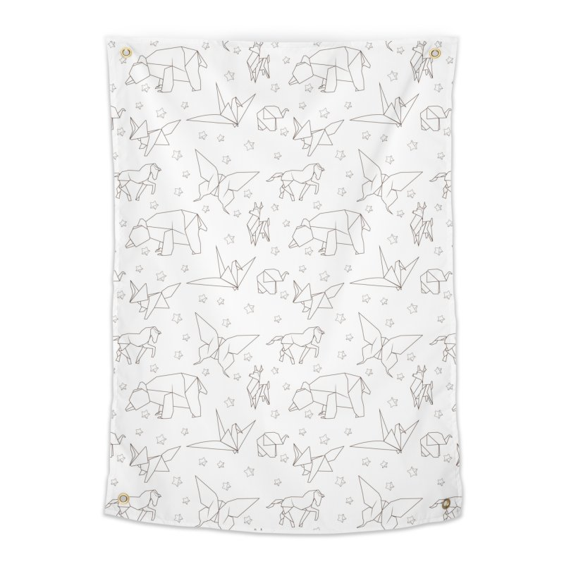 Origami Home Tapestry by Svaeth's Artist Shop