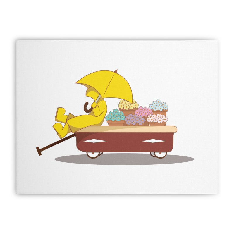 Spring Showers Home Stretched Canvas by Svaeth's Artist Shop
