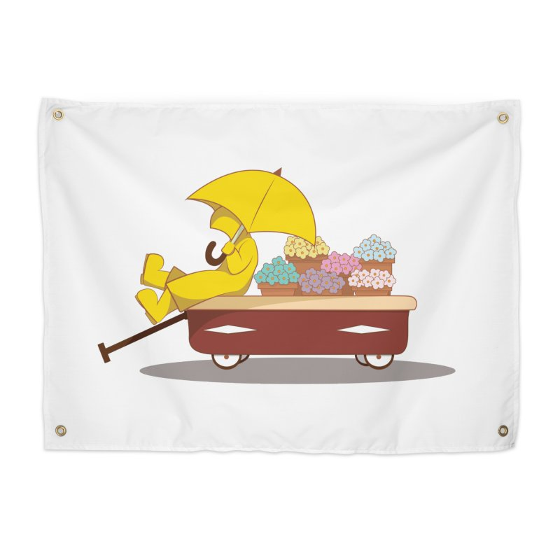 Spring Showers Home Tapestry by Svaeth's Artist Shop