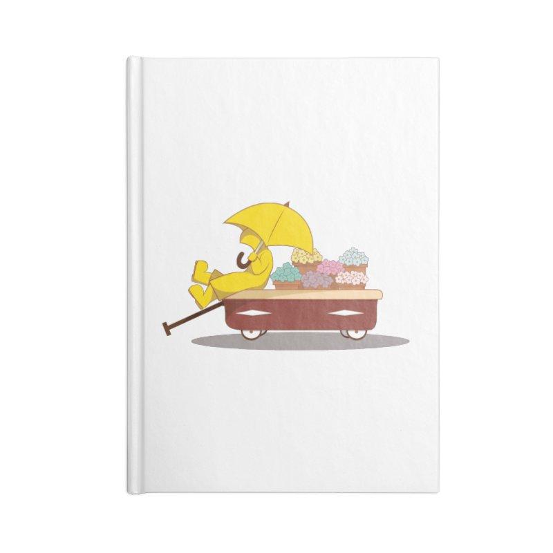 Spring Showers Accessories Notebook by Svaeth's Artist Shop
