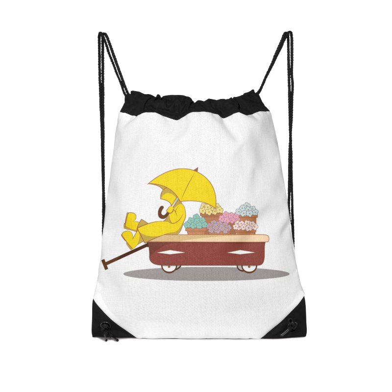 Spring Showers Accessories Bag by Svaeth's Artist Shop