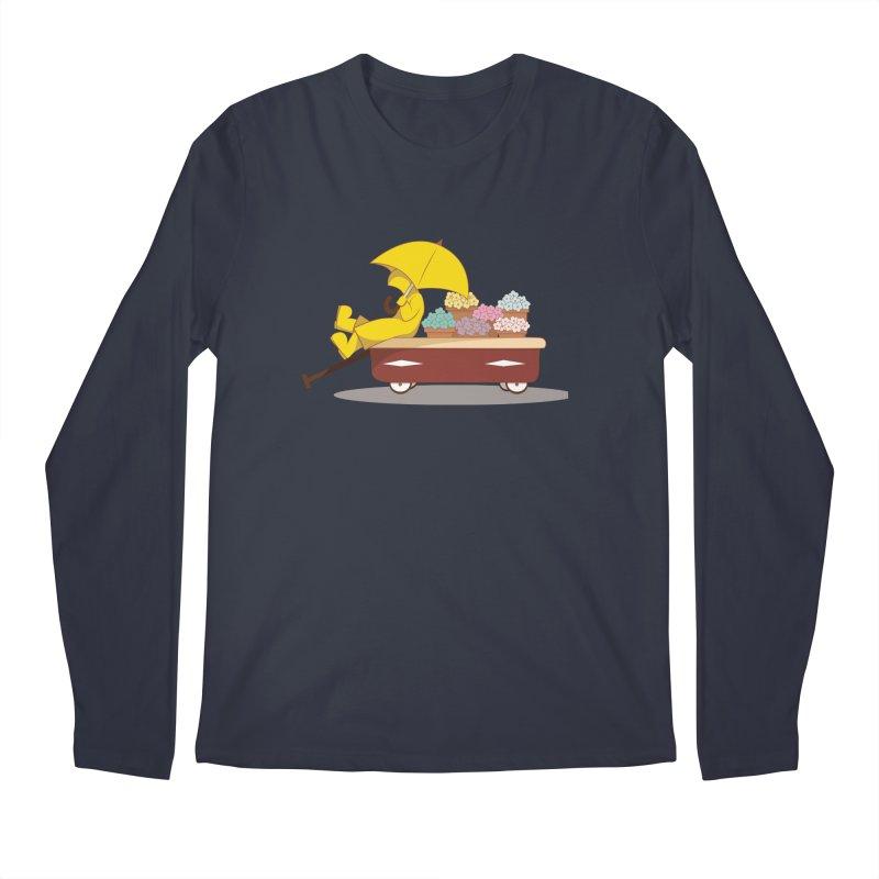Spring Showers Men's Longsleeve T-Shirt by Svaeth's Artist Shop