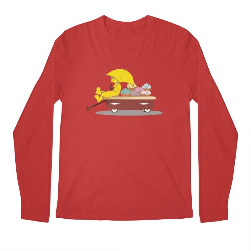 Spring Showers Men's Regular Longsleeve T-Shirt by Svaeth's Artist Shop
