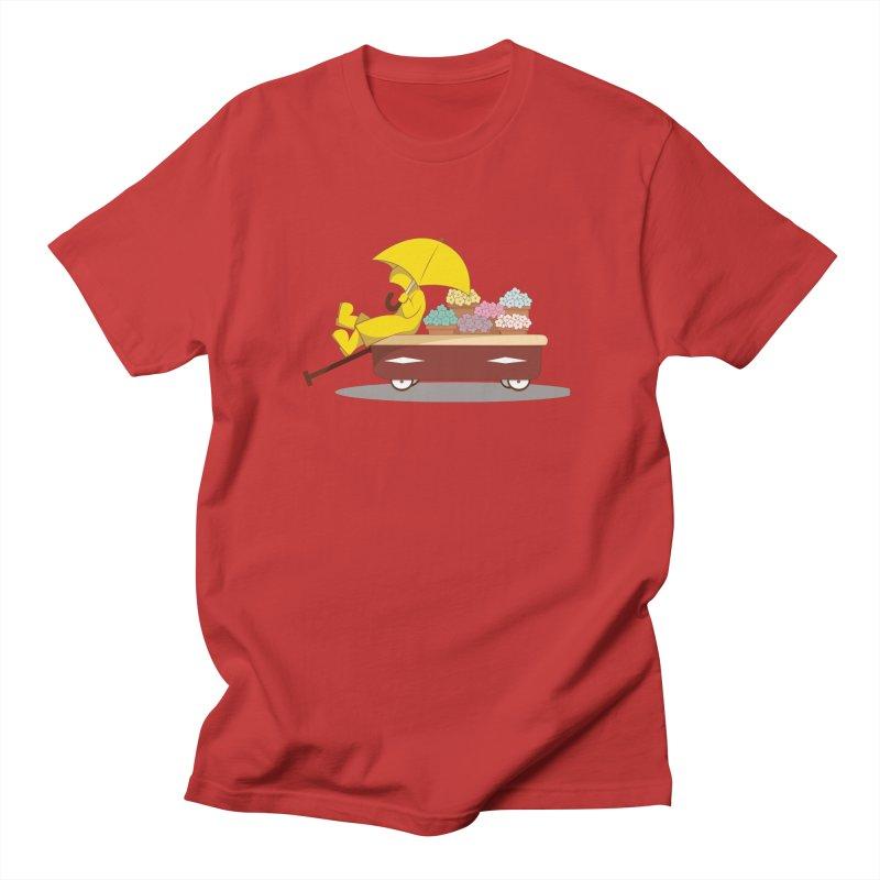 Spring Showers Men's T-Shirt by Svaeth's Artist Shop