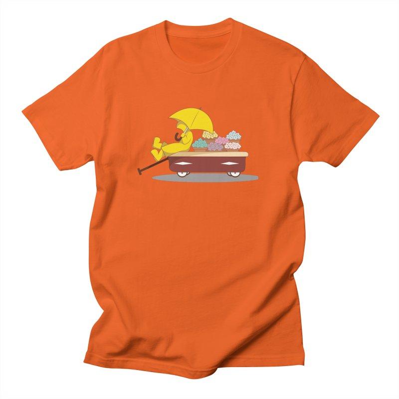 Spring Showers Men's Regular T-Shirt by Svaeth's Artist Shop