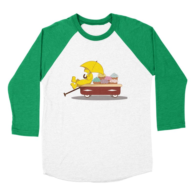 Spring Showers Women's Baseball Triblend Longsleeve T-Shirt by Svaeth's Artist Shop