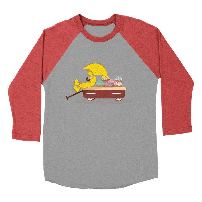 Spring Showers Men's Baseball Triblend T-Shirt by Svaeth's Artist Shop