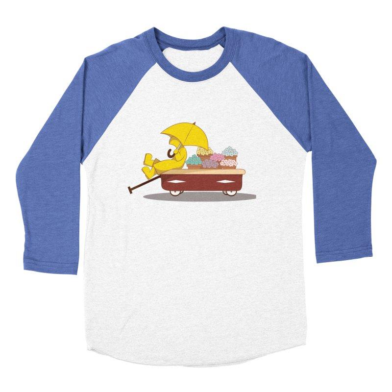 Spring Showers Men's Baseball Triblend Longsleeve T-Shirt by Svaeth's Artist Shop