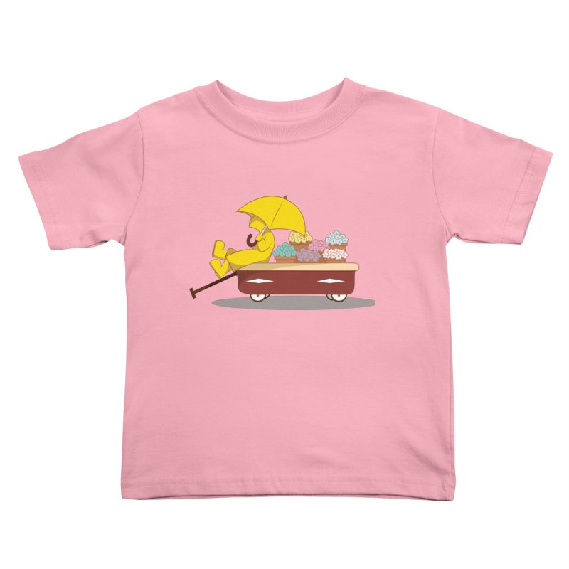 Spring Showers Kids Toddler T-Shirt by Svaeth's Artist Shop