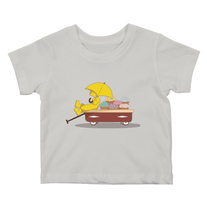 Spring Showers Kids Baby T-Shirt by Svaeth's Artist Shop