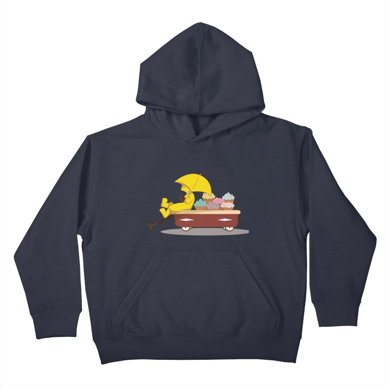 Spring Showers Kids Pullover Hoody by Svaeth's Artist Shop