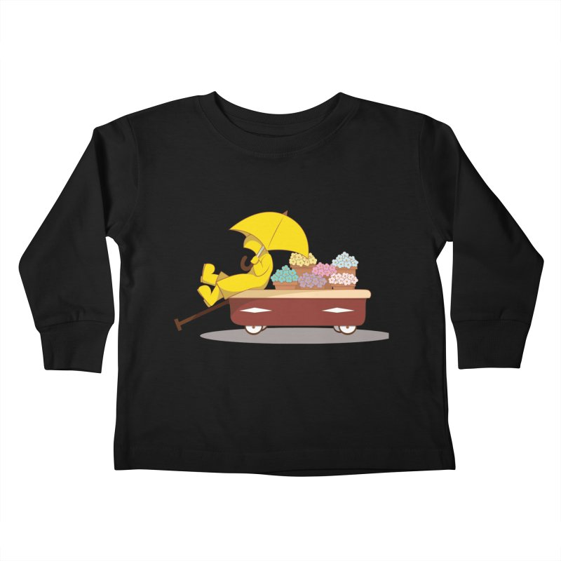 Spring Showers Kids Toddler Longsleeve T-Shirt by Svaeth's Artist Shop